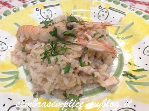 risotto pesce e mazzancolle_sembrasemplice.myblog.it